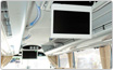 [the inside of car] 26/17 inch of electric storage LCD monitor
