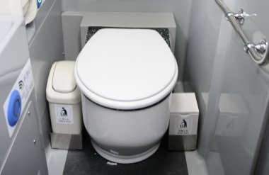 With toilet of relief♪